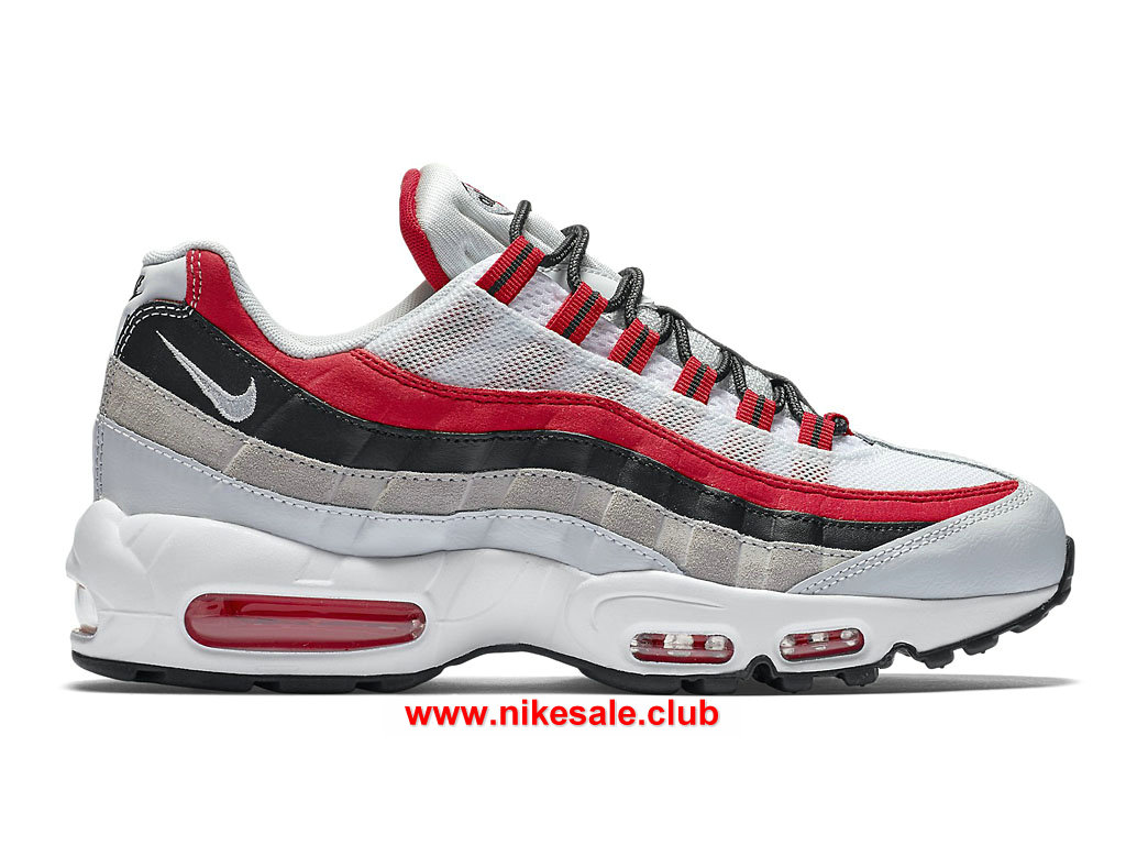 Chaussures Nike Air Max 95 Essential Prix Femme Pas Cher RougeNoirBlanc 749766_601 1701100904 Les Nike Magasins Discount D´usine,Nike BasketBall