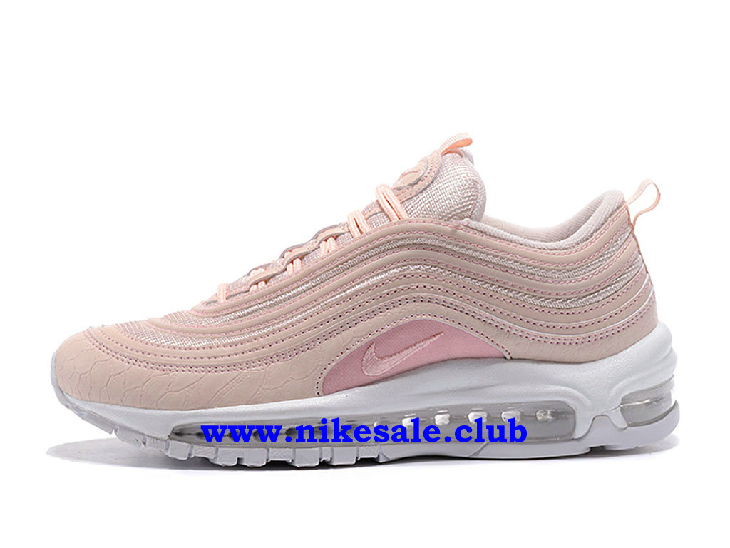 Chaussures Nike Air Max 97 Femme Pas Cher Prix Light Rose ...