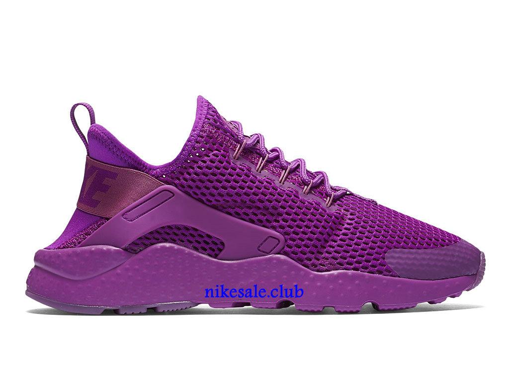Nike Air Huarache Ultra Breathe GS Prix Chaussures De Nike Urh Pas Cher Pour Femme Pourpre 833292_500 Les Nike Magasins Discount D´usine,Nike